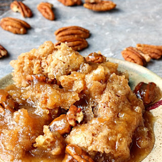 Pecan Cobbler and Reasons I Blog