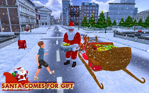 Christmas Santa Rush Gift Delivery- New Game 2019 Apk 1