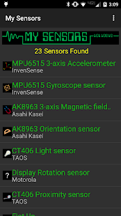 My Sensors- screenshot thumbnail