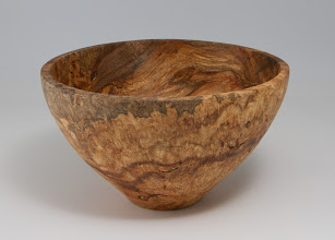 "Photo: Stan Wellborn 8"" x 5"" bowl [maple burl]"