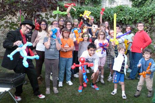 magia y globoflexia para niños madrid