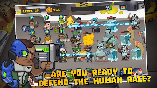 Zombies Defense vs Walking Army of Dead - náhled