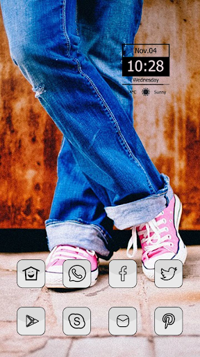 Old Jeans Theme