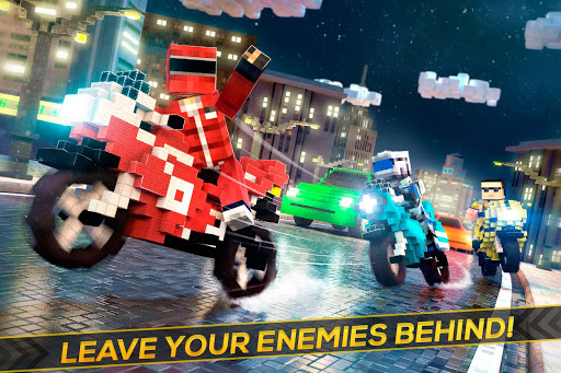 Blocky Superbikes Race Game - Motorcycle Challenge 2.11.18 screenshots 1