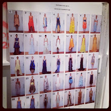 Photo: Model casting board for the Supima show at New York Fashion Week Spring 2013 - Which shows are you excited to see?