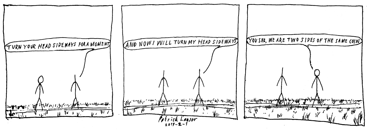 HANGMEN strip about directional open mindedness