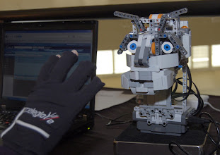 Photo: Socrates the awesome lego robot at EclipseCon 2010