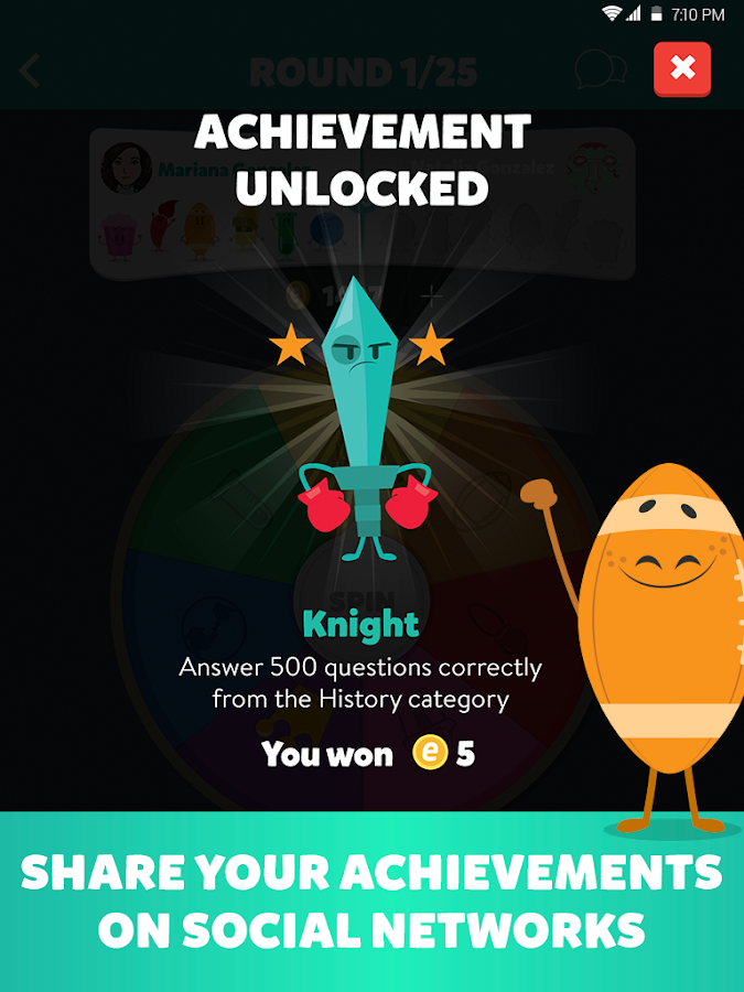 Trivia Crack (Ad free)- screenshot