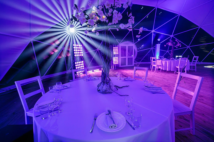 Фото №3 зала Свадебный парк «Изгиб»