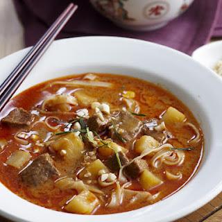 Creamy Massaman Soup.