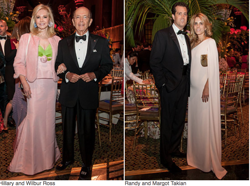 Karen Klopp, Hilary Dick article for New York Social Diary, What to wear to a black tie gala for Lenox Hill Neighborhood Association.   Hillary Wilbur Ross, Randy Margot Takian.