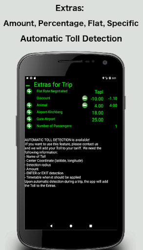 Taximeter-GPS 4.9.4.1 screenshots 3