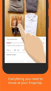 Touchabl Pictures – Touch to search stuffs in pics- screenshot thumbnail