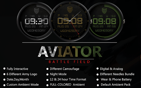 Skymaster Pilot Watch Face screenshot 0