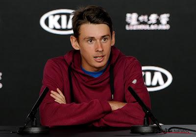 Alex De Minaur heeft Antalya Open gewonnen na snelle opgave van tegenstander