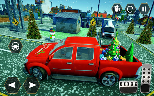 Foto do Santa Gifts Delivery Truck: Christmas gifts 2019