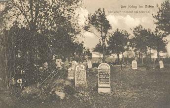 Photo: Cmentarz żydowski