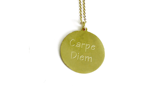 collier CARPE DIEM