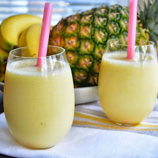 Pineapple Smoothie With Milk Recipes