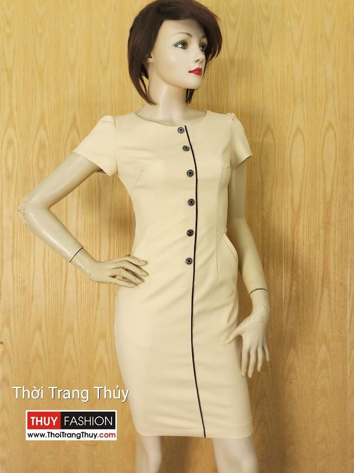 Váy bút chì dáng kiểu công sở V633 tại Thời Trang Thủy