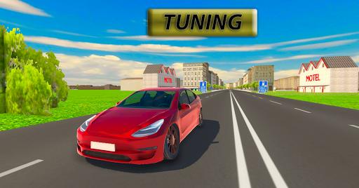 Télécharger Electric Car Driver 2 : Real Modern Car Driving APK MOD (Astuce) screenshots 3