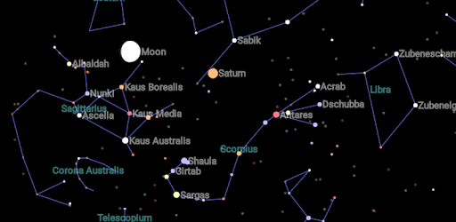 Map Of Constellations Constellation Map   Apps on Google Play