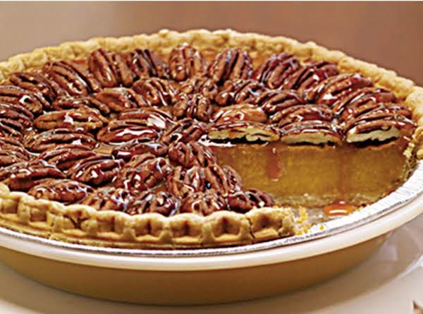 Flaming Pecan Pumpkin Pie Recipe