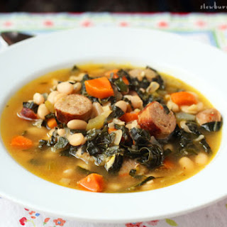 Tuscan Sausage and Kale Soup Brings Big Winter Comfort