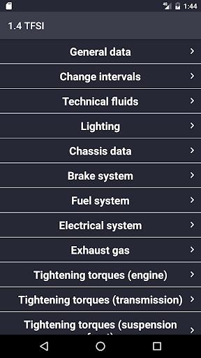 TechApp for AUDI screenshot 3