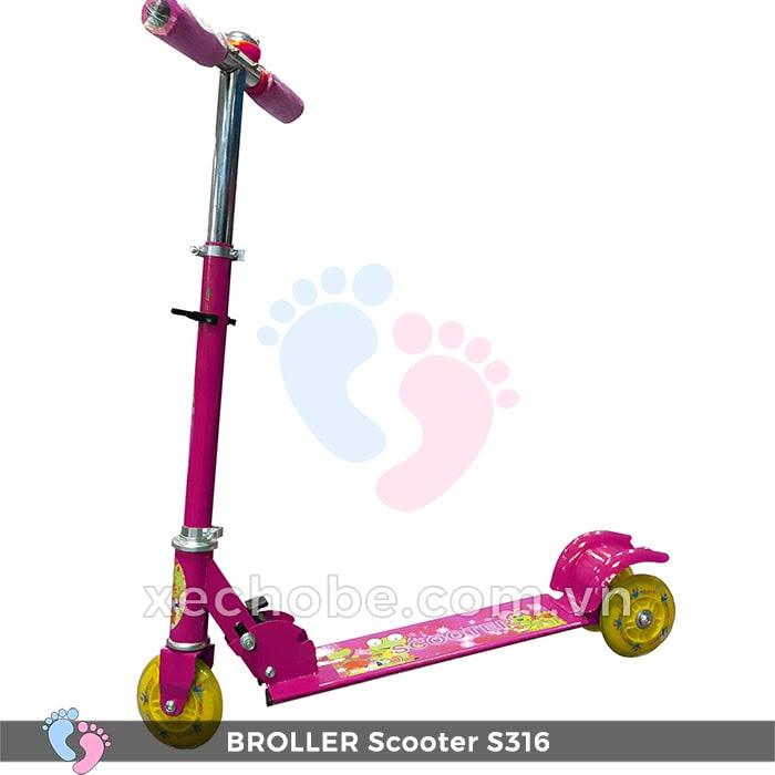 Xe trượt Scooter trẻ em Broller S316 3
