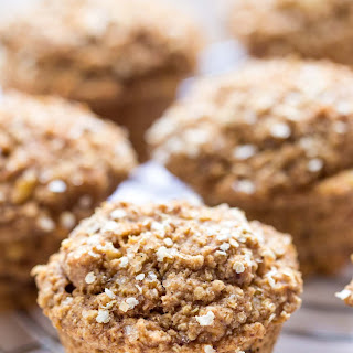 Skinny Spiced Coconut Yogurt Quinoa Muffins.