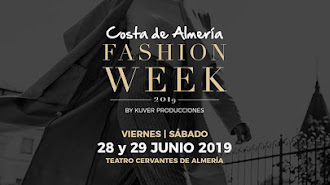 Cartel de Costa de Almería Fashion Week.