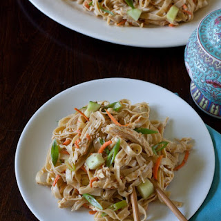 Chilled Sesame Noodles Chicken Salad Recipe