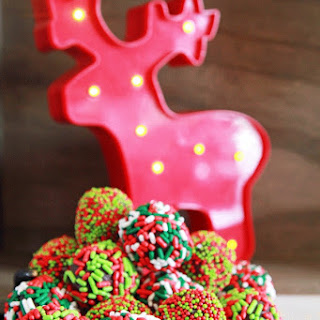 Holiday Truffles with a Boozy Twist