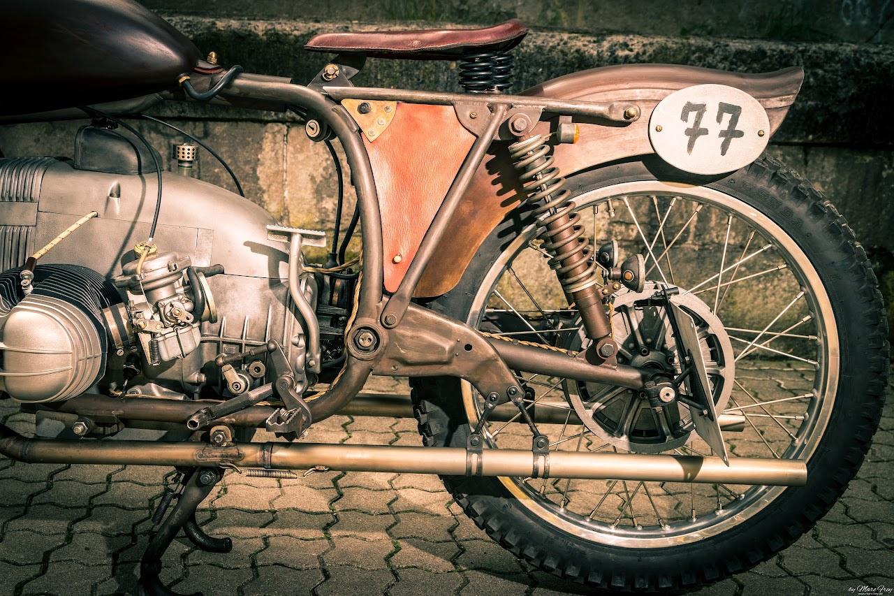 Boardtracker auf BMW Motorrad R - Boxer Basis