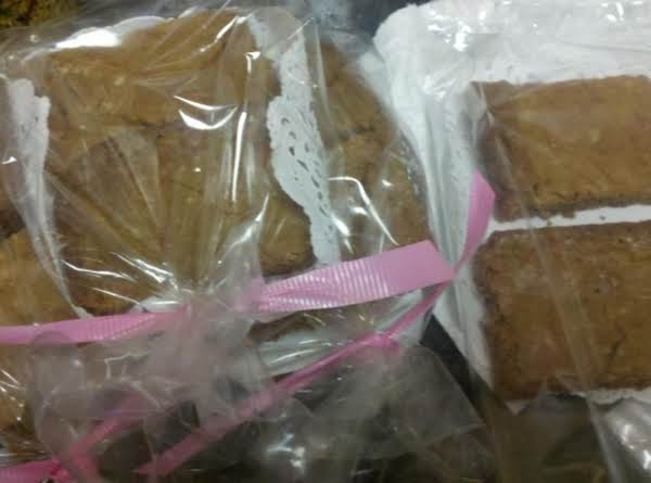 Susan's Butterscotch Brownies Recipe