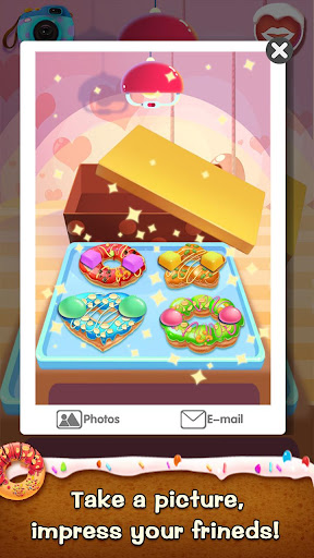 ud83cudf69ud83cudf69Make Donut - Interesting Cooking Game apkpoly screenshots 20