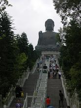 Photo: Lantau's giant bronze buddha