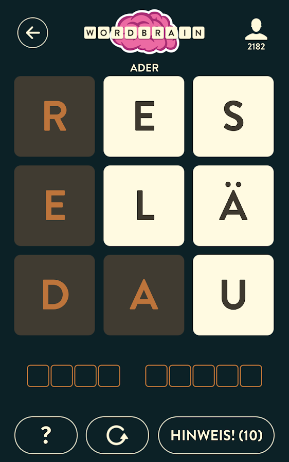 WordBrain – Screenshot
