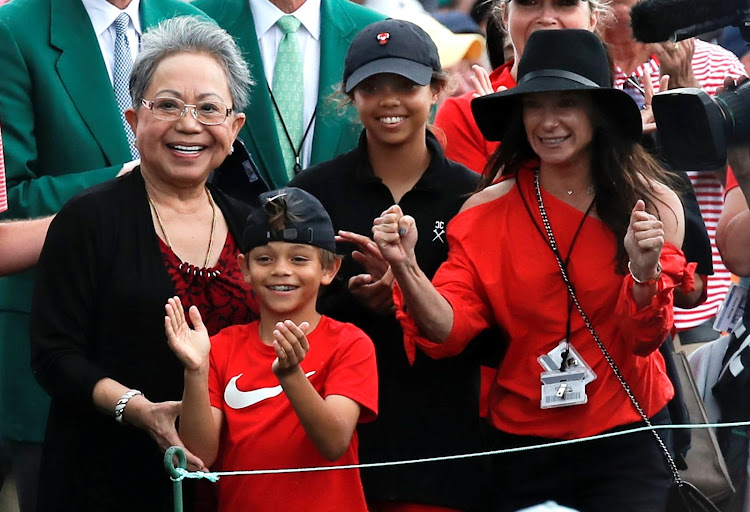 epic masters win a family affair for tiger woods as dad  son