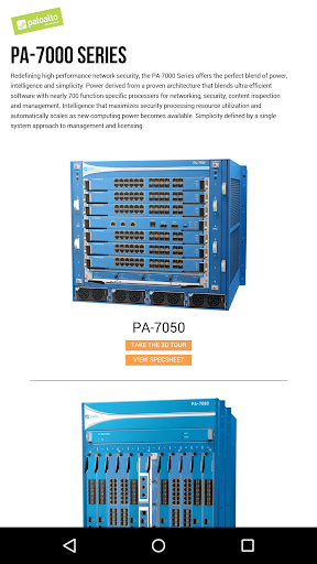 PA-7000 Series 3D App