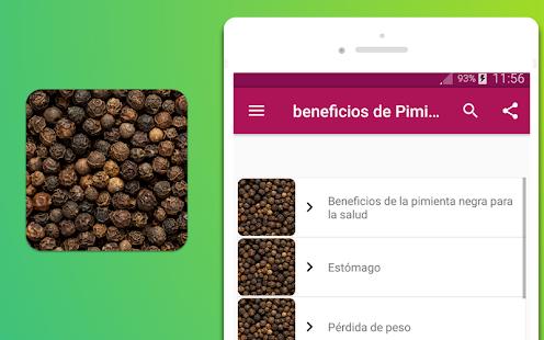beneficios de Pimienta - náhled