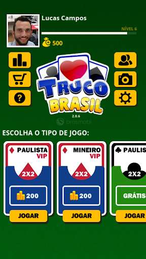 Truco Brasil - Truco online  gameplay | by HackJr.Pw 4