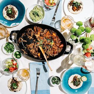 Vietnamese Braised Beef Tacos