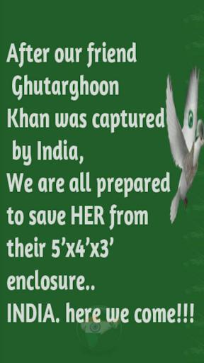 Spy pigeon: Mission India