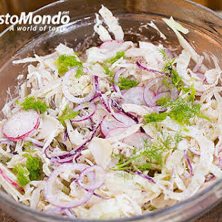 Red And White Cabbage Coleslaw Recipes.