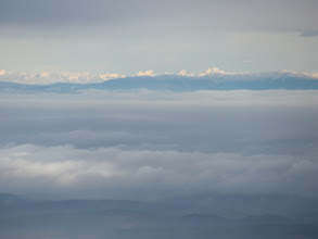 Photo: Aussicht vom Kekes bis zur Hohen Tatra,  150 km nördlich