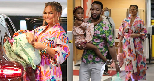 Chrissy Teigen and John Legend look joyful during family meal out after bullying controversy