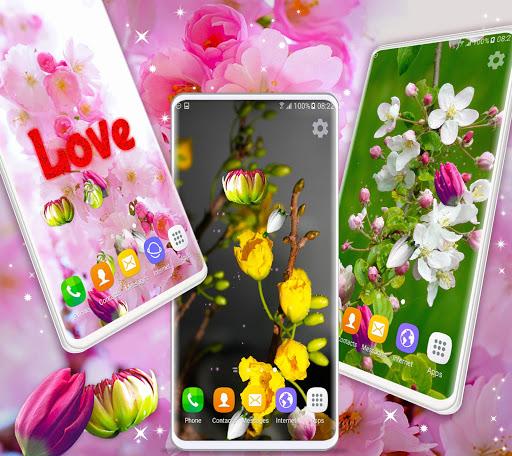 Cherry Blossom Live Wallpaper: Spring 3D Wallpaper 5.4.0 screenshots 2