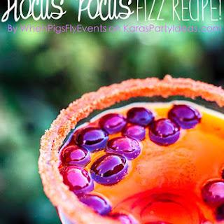 Hocus Pocus Halloween Fizz Drink.